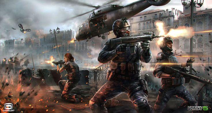 Modern Combat 5: gráficos de impresión por menos de un Euro - http://www.actualidadiphone.com/2015/02/18/modern-combat-5-graficos-de-impresion-por-menos-de-un-euro/