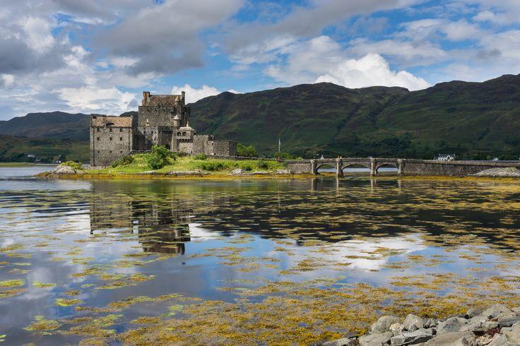 https://flic.kr/p/YSFpXs | Eilean Donan castle | Eilean Donan castle, the famous castle showing the bridge and landscape behind. Scotland