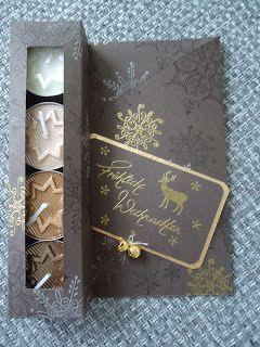 Hallo !   Heute habe ich eine Teelichtkarte für Euch- wahrscheinlich nix Neues- aber die Beschenkten freuen sich immer sehr darüber. Ich hab...