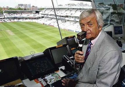 Richie Benaud. What would cricket broadcasting be in Australia with old Ritchie, not to mention the whole captaining Australia and being one of the best spin bowling all rounders of all time  :)