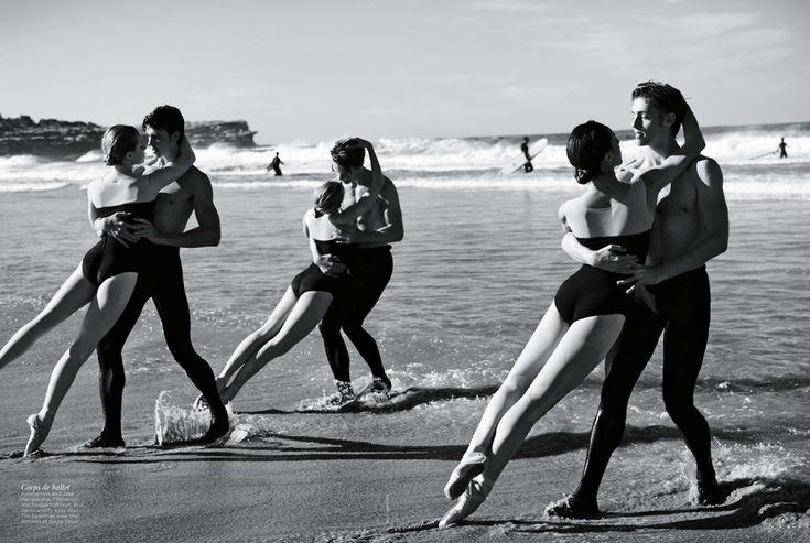 Australian Ballet Jubilee | Will Davidson | Vogue Australia November 2012 | 'HeavenlyCreatures' - 0- News, Research on Key Issues for Women Voters - Anne of Carversville Women's News