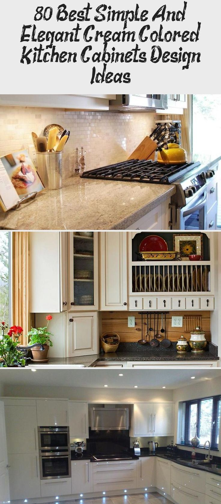 80+ Best Simple And Elegant Cream Colored Kitchen ...