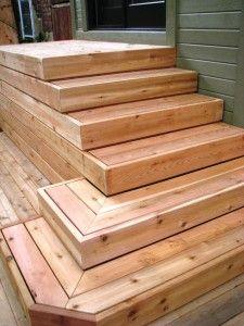 Les 24 meilleures images propos de jardin sur pinterest for Escalier exterieur bois