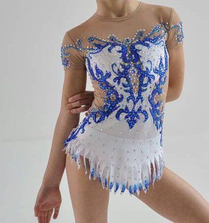 Gymnastique rythmique designer belle Conte par artmaisternia