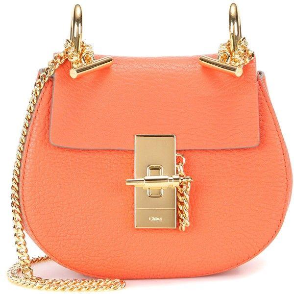 Chlo¨¦ Nano Drew Leather Shoulder Bag ($1,220) ? liked on Polyvore ...