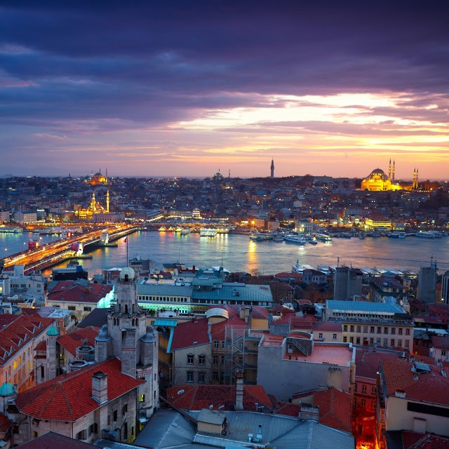 Istanbul Beautiful Places of the World