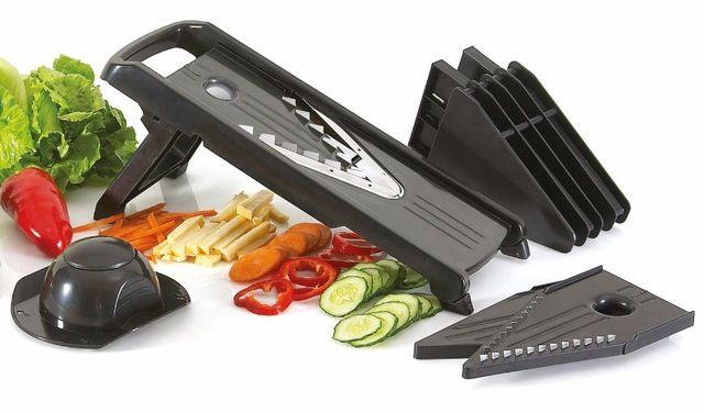 5 Piece Blades Professional V-Slicer  Mandoline Slicer Food Chopper Fruit & Vegetable Cutter kitchen Accessories