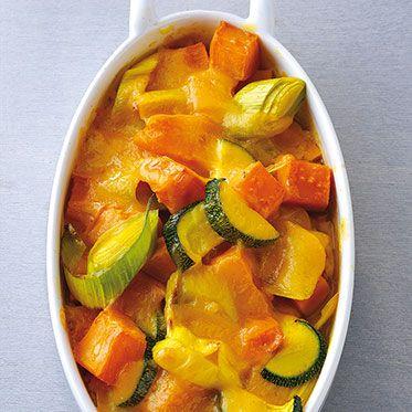 Süßkartoffel-Auflauf Rezept | Küchengötter