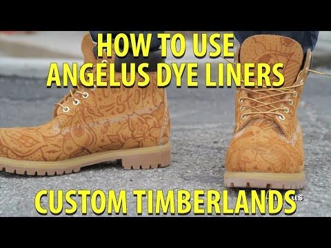 Angelus Dye Liners | How to draw designs - YouTube
