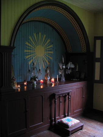 52 best Religious-Prayer Spaces images on Pinterest | Home altar ...