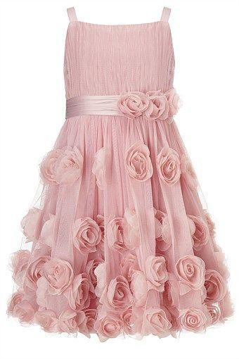 Monsoon Rosie Cascade Dress