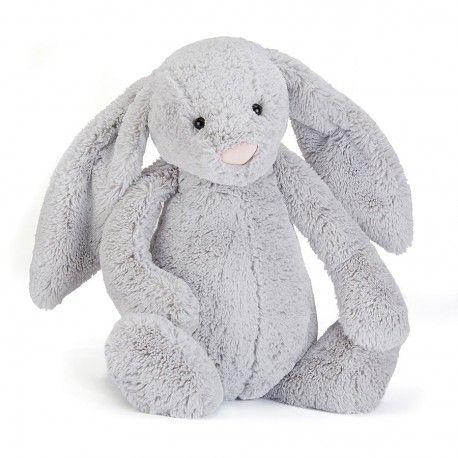JELLYCAT - Peluche lapin gris