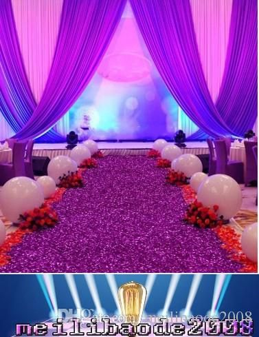 1.4 M Wide X 10 M/Roll Shiny Pearlescent Wedding Carpet Fashion Aisle Runner T Station Carpet For Party Decoration Supplies Myy Wedding Decorating Wedding Decoration Resale From Meilibaode2008, $4.63| Dhgate.Com