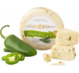 Jalapeno Jack Cheese | Great Midwest Artisan Cheeses | DCI Cheese Company