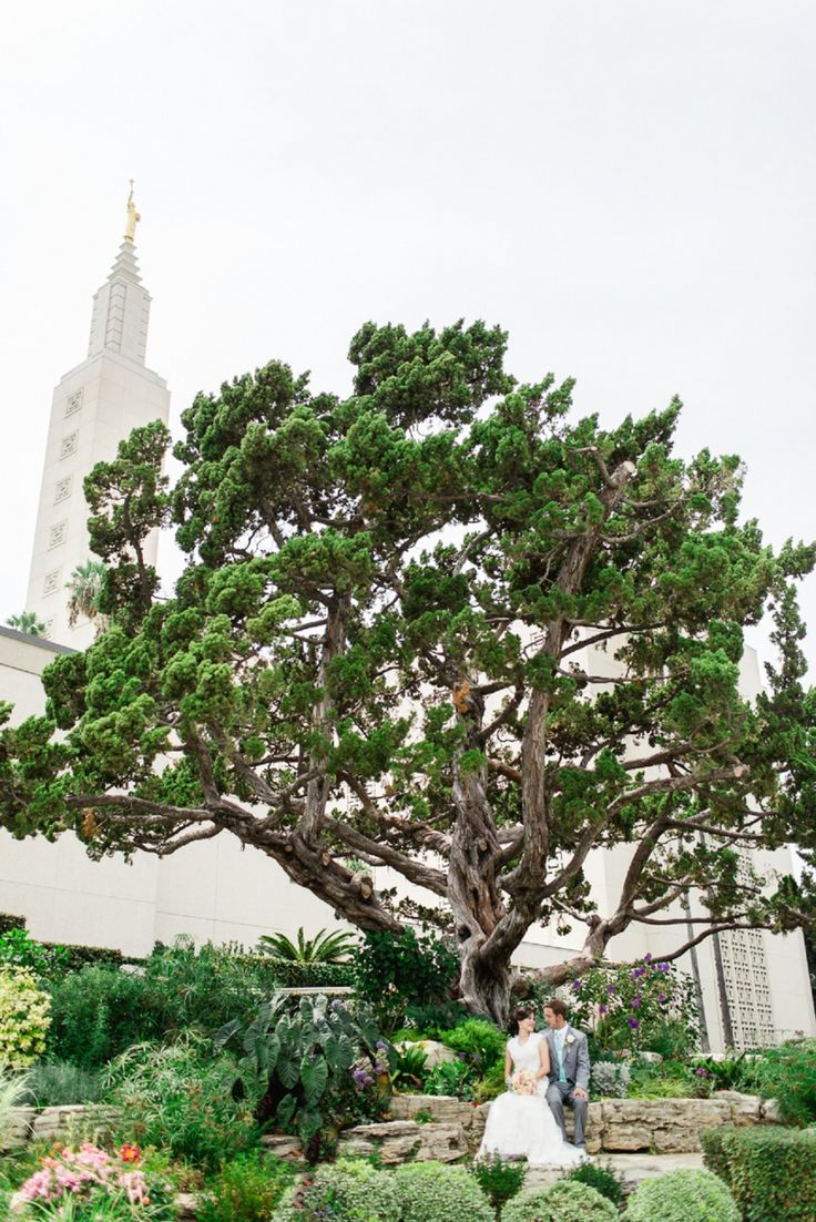 Los Angeles LDS Temple Wedding by Katie Jackson Photography