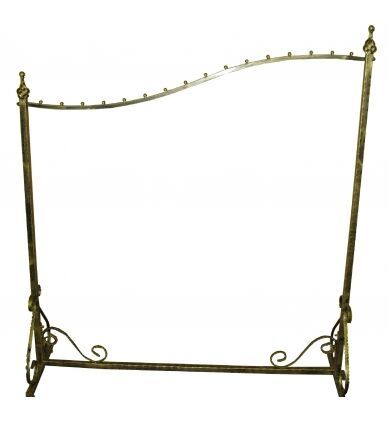 Boutique Clothing Rack, Elegant Garment Rack, Display Store Rack ~ For when I have my trunk shows!