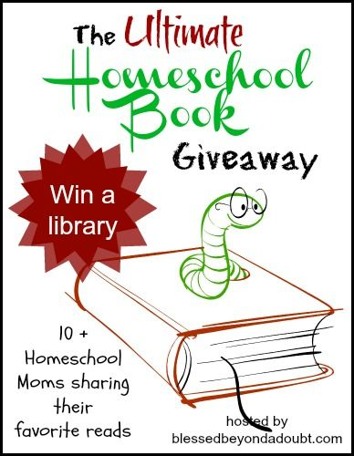 Win the Homeschool Book Giveaway and add 11 inspirational homeschool books to your library!