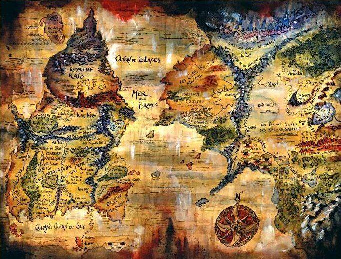 Gwendalavir, l'univers de Ewilan et de Ellana tellement bien décrit par Pierre Bottero