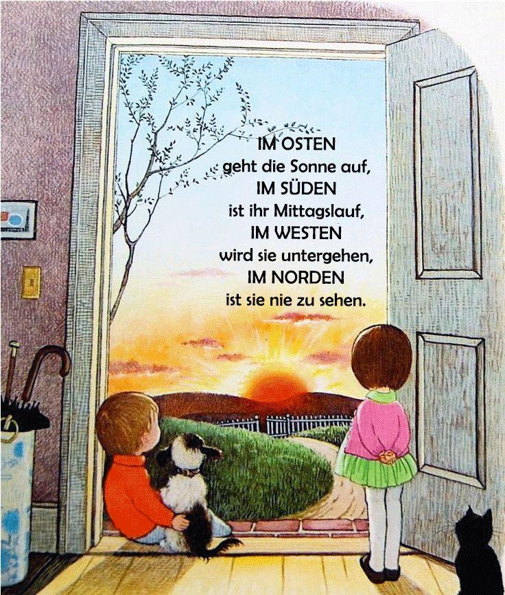 #gedicht #kindergarten #erzieher #erzieherin #reim #kita #wetter #himmelsrichtungen