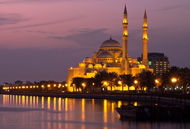 Al Noor Mosque - Sharjah, UAE