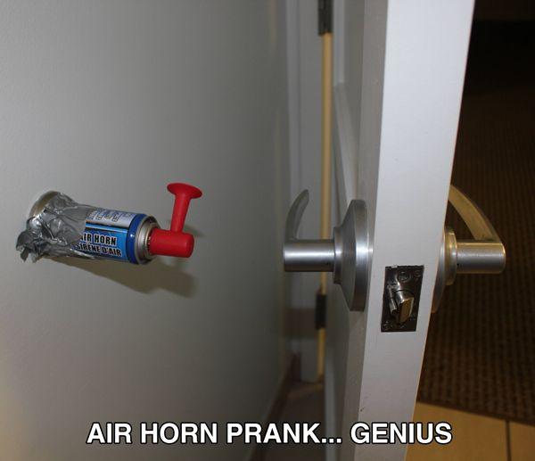 Air Horn Prank!