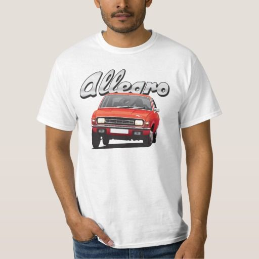 Austin Allegro DIY red  #austinallegro #allegro #austin #leyland #british #uk #automobile #car #tshirt #print #illtustration #zazzle #70s #classic #red