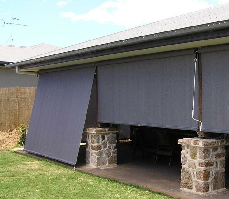 Best 25 Outdoor blinds ideas on Pinterest Outdoor drapes