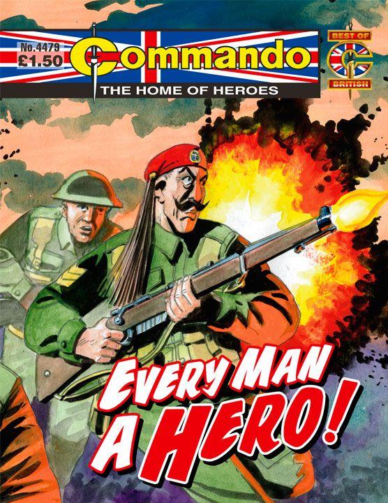 Commando No. 4479 'Every Man a Hero!'
