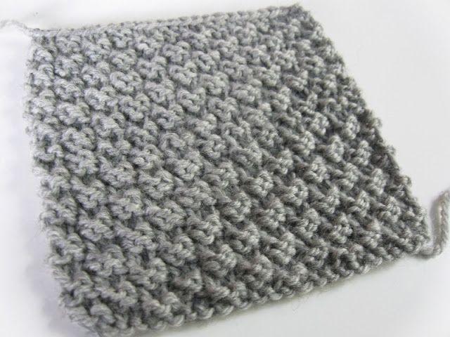 Annymay le blog point facile au tricot le point de damier 2 mailles tricot pinterest - Point tricot facile joli ...