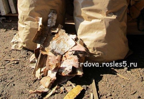 Купить набор для розжига дров цена 100 руб - Рос Лес