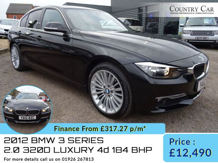 2012 12 BMW 3 SERIES 2.0 320D LUXURY 4d 184 BHP. Call Us: 07441 906677 - countrycar.co.uk  #countrycar #bmw #Luxurycar #usedcar #cars