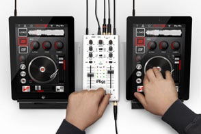 iRig MIX - the first mobile mixer for iPhone/iPod touch/iPad