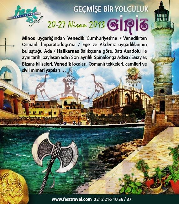 Ege ve Akdeniz Kültür Harmanlaması: Girit!