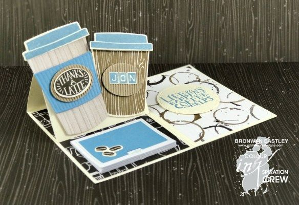 Colour INKspiration Challenges on Facebook, Stampin' Up!, Coffee Cafe, Bronwyn Eastley, #addinktivedesigns