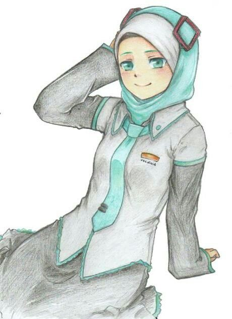 Muslimah anime