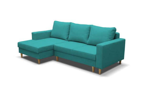 Corner sofa Scandinavia turquoise