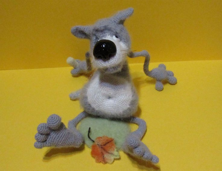 волк - Амигуруми - Форум почитателей амигуруми (вязаной игрушки)