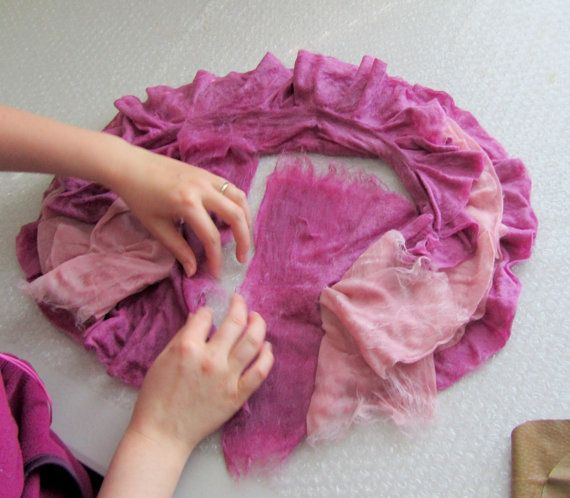 Learn how to make two different kinds of scarves by wet ...