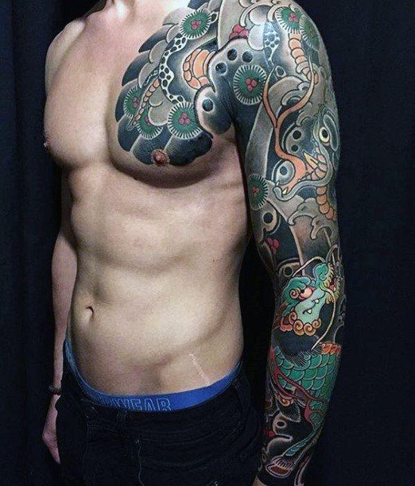 75 Süße Tattoos für Männer – Cool Manly Design-Ideen