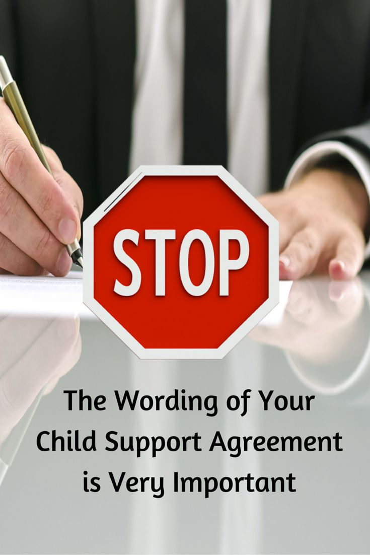 Best 25 child support laws ideas on pinterest child custody child support wording of order or agreement robcynllc Gallery