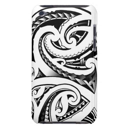 iPhone case- Maori patterned.