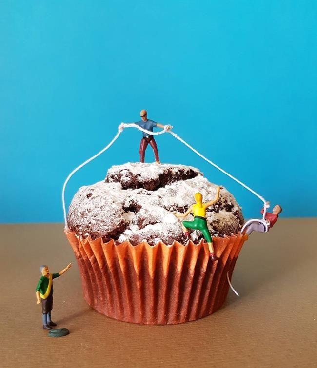 Pasta Şefinden Minyatür Dünya'ya Obur Bakışı Temsil Eden Birbirinden İlginç Fotoğraflar Sanatlı Bi Blog 8