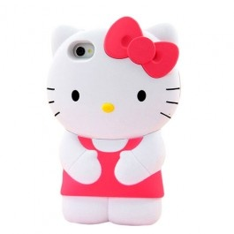 If you love Hello Kitty then you'd cherish having this Hello Kitty 3D Figure iPhone case. It offers your phone maximum protection from dust, scratch and shock. The case is made up of highly durable and flexible material. It can easily be attach and detach from your iPhone. It can be smoothly slip in and out of the pocket. The cutouts are also available to provide you full uninterrupted access to the sensors, controls, and ports.