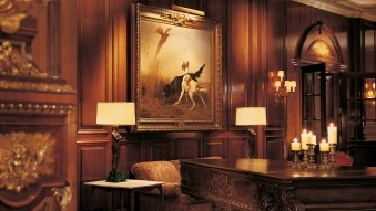 The Adolphus in Dallas, TX...I stayed here my first OU/Texas weekend!