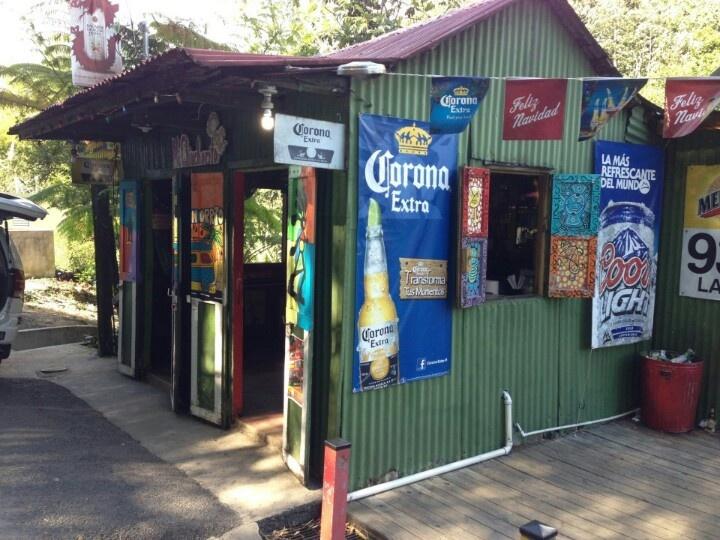 Kiosko. Small bar. Puerto Rico☀