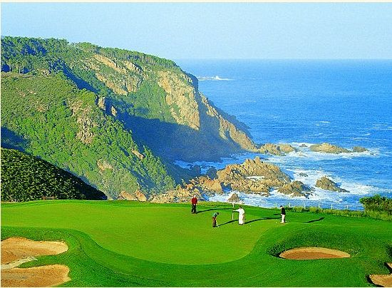 Pezula Resort Hotel & Spa,Western cape, South Africa : The golf course