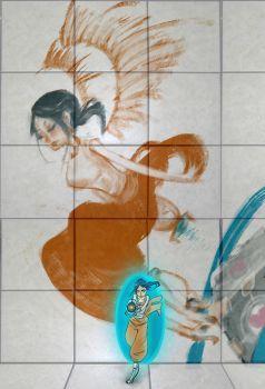Portal 2: Rattmann's Angel by Mochamura