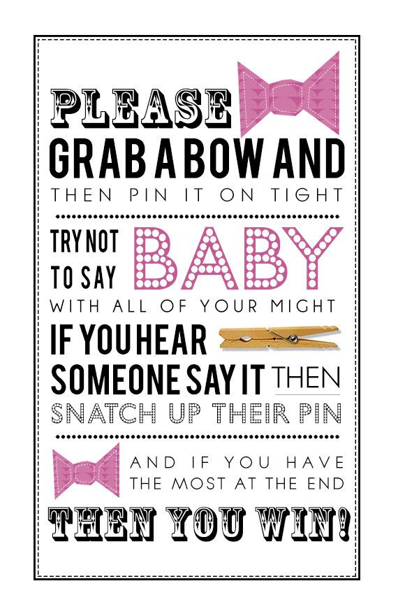 Clothespin Game Printable PDF For Girl Baby Shower| Customization Available  To Match Your Theme!