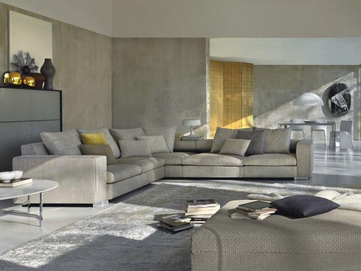 TURNER sofa _ Molteni & C  Do obývačky  Pinterest  Sofas
