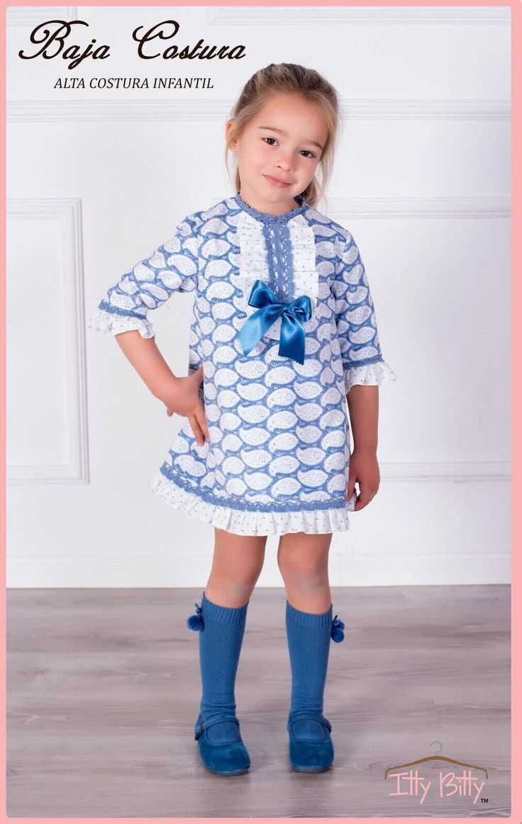 Itty Bitty Premium Spanish Boutique Blue Bow Dress https://www.ittybitty.co.uk/product/itty-bitty-premium-spanish-boutique-blue-bow-dress/ #dresses